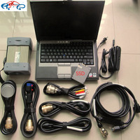 2017 mb star c3 software 2014.12 with laptop d630 new mb star c3 multiplexer plus 7 cables for MB cars and trucks