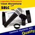 Free Shipping Quality SM 58 58S SM58S SM58LC 58LC Clear Sound Handheld Vocal Cardioid Dynamic Wired Karaoke Microphone Microfone