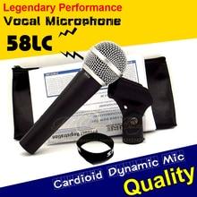 Envío Gratis Calidad SM58S SM58LC 58LC SM 58 58 S Clear Sound Mano Cable de Micrófono de Karaoke Micrófono Vocal Dinámico Cardioide