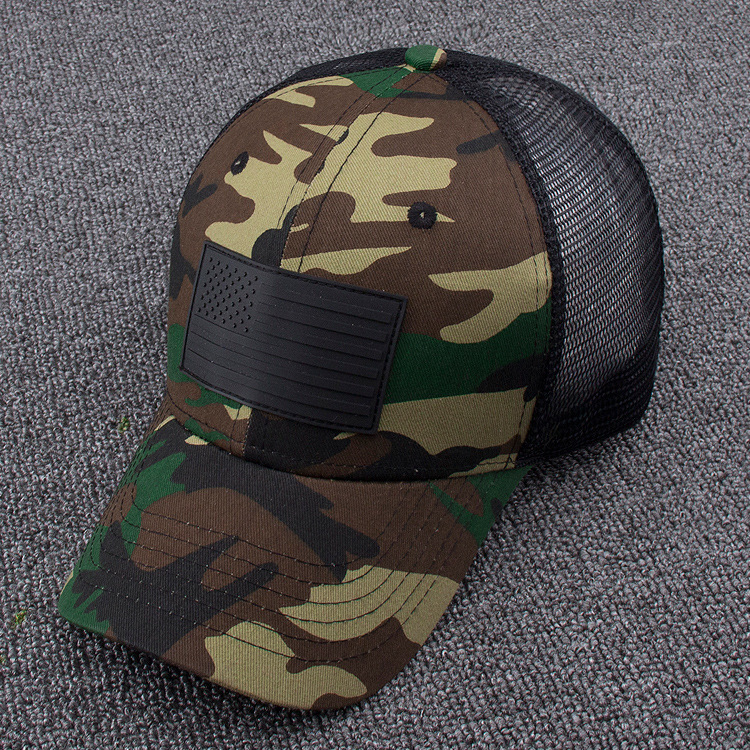 Camouflage Baseball Hat Men And Women Outdoors Peaked Cap Adult Summer Cool Mesh Trucker Caps climate men women summer cool mesh cap remix music dj hardwell on air fans cool baseball mesh summer net trucker caps hat fans