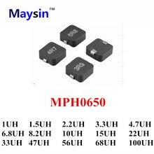 MPH0650 1UH 1.5UH 2.2UH 3.3UH 4.7UH 6.8UH 8.2UH 10UH 15UH 22UH 33UH 56UH 68UH 100UH 20%ตัวอย่างจำเป็นที่จะต้องลูกค้า