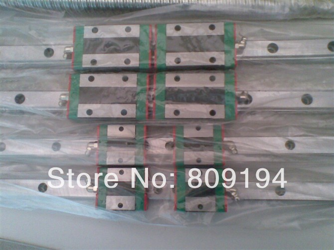 1250mm HIWIN EGR15 linear guide rail from taiwan cnc hiwin egr15 2400mm rail linear guide from taiwan