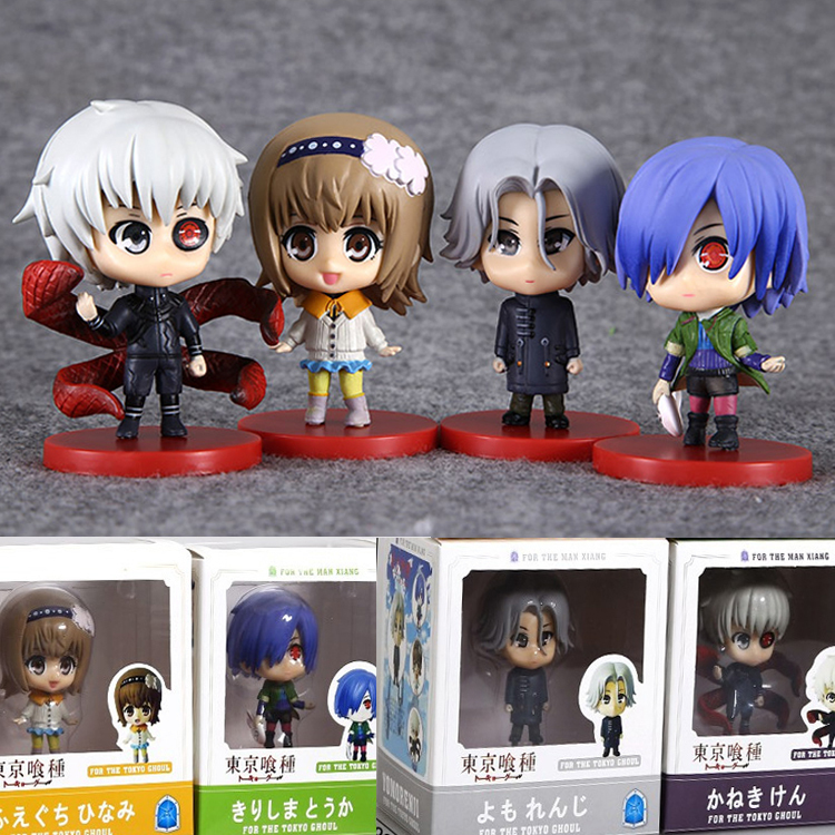 Good PVC 3th Generation Ken Kaneki Tokyo Ghoul Anime