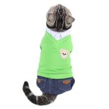 Traumdeutung Small Cats Clothes Jumpsuit  Clothing Products For Pet Dogs Costume Cat Accessories ubranie dla kota kedi