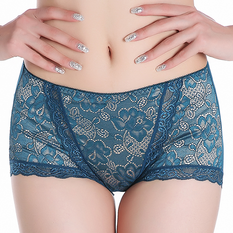 Women Underwear Briefs Sexy Women's Panties Sexy Full Lace Panties Sexy Lace Panties Women's Mid-Waist Cotton Briefs Underwear