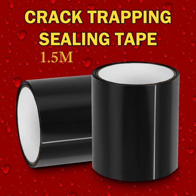150x10 cm cinta resistente al agua de fibra súper fuerte detener fugas sello Reparación de cinta de rendimiento auto-Fix cinta auto- cinta adhesiva