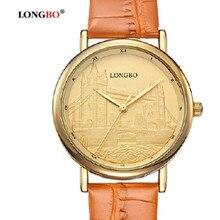 Longbo lover ' s hot famosa marca militar hombres de cuarzo de las muchachas reloj de señora impermeable de moda casual estudiantes relojes de lujo relogio