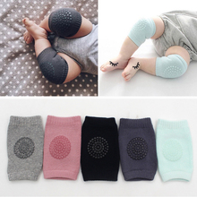 New Safety Cotton Baby Knee Pads Crawling Protector Kids Kneecaps Children Short Kneepads Girls Boys Leg Warmers for Autumn D35 1 pair kids knee pads safety crawling anti slip knee protector baby leggings children leg warmers for baby playing dropshipping