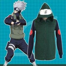 Naruto Kakashi Zip-Up Kakashi Hoodie