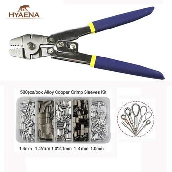 Многофункциональные Антикоррозийные плоскогубцы Hyaena, плоскогубцы для рыбалки из нержавеющей стали, ножницы для рыболовных снастей, инстру...