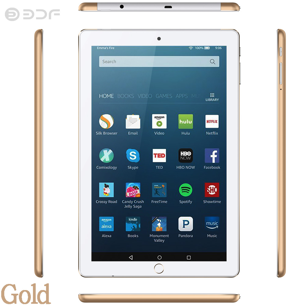 10.1 Inch Android 7.0 Mobile Phone Call Sim Card 3G Tablet Pc 1GB RAM And 32GB Rom 5Mp Camera