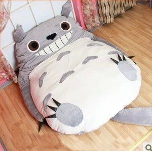 2017 Size My Neighbor Totoro Stuffed Plush Toys Doll Large Cat Animals Soft Tv Movie Character Cartoon Tatami Bean Bag Doubl In