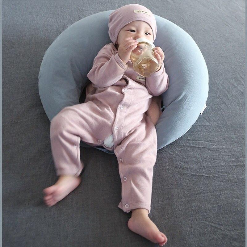 Coussin d'allaitement réglable pour nouveau-né coussin de maternité post-partum coussin d'allaitement lavable coussin d'oreiller pour bébé