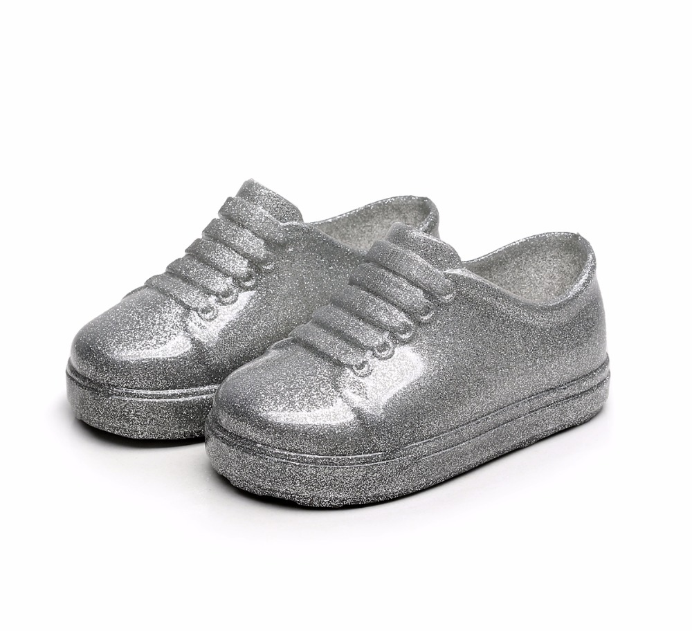 Mini Melissa 2019 New Sports Shoes Breathable Sneakers Mini Melissa Children Shoes Boy Girl Sneakers Fashion Melissa Shoes