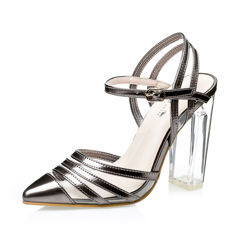 Fashion Women Shoes 2016 Spring Summer Sexy Crystal High Heels Women Pumps Platform Party Dress Pumps