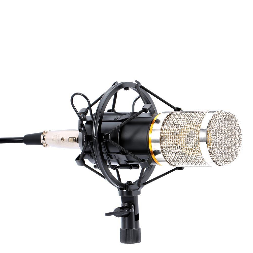 Condensateur Microphone filaire ciseaux bras support métal choc montage Pop filtre enregistrement sonore pour bavarder chant 8899