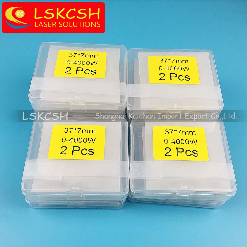 LSKCSH 6pcs/lot 37*7mm laser protective mirrors windows for precitec OG Y D37 d7 protecting glass P0595-61551 0-4000W Procutter