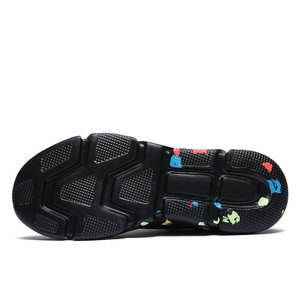 Image 3 - MWY Stretch tissu dames chaussettes chaussures Zapatillas Mujer Deportiva hommes femmes baskets basses antidérapant chaussures plates décontracté chaussures de marche