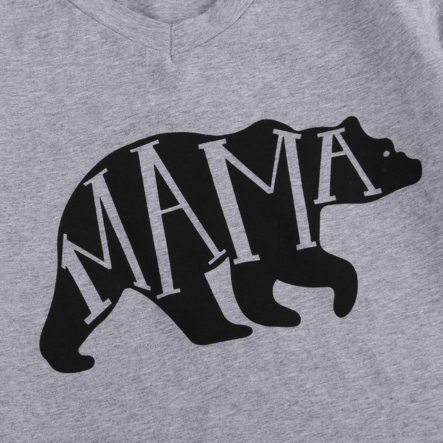 Mom and Baby Clothes Mama Bear Tshirt Tee/Babies Onesie  Bodysuit Matching Set Clothing