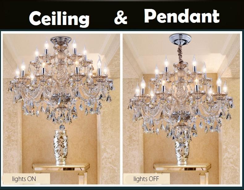 Modern Crystal Chandelier Living room lustres de cristal Decoración - Iluminación interior - foto 5
