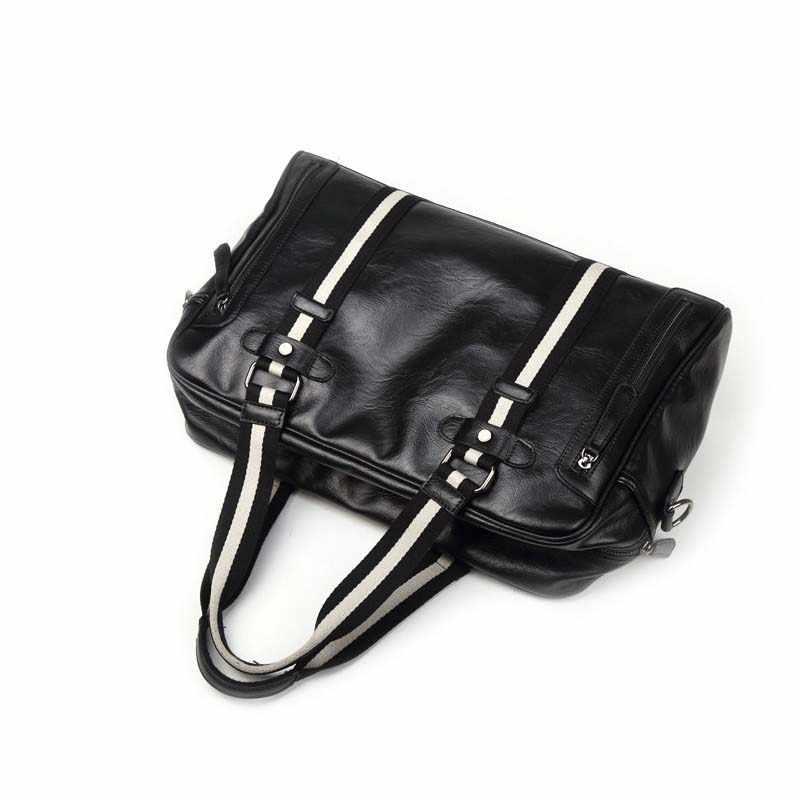 Chuwanglin bolsos de lona de viaje de moda suave bolso de hombro casual bolso de hombre de alta capacidad bolso de equipaje masculino mala de viagem S6528