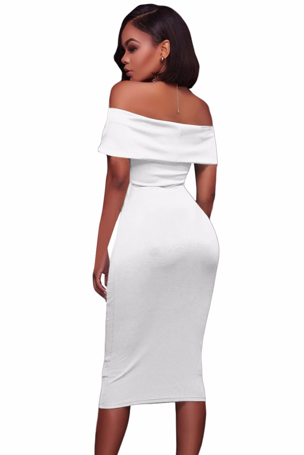 White-Ruched-Off-Shoulder-Bodycon-Midi-Dress-LC61507-1-3