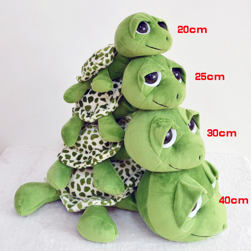 20-40cm Baby Big Eyes Turtle Plush Toys Cute Tortoise Doll Stitch Turtle Gift Toy For Childrens Birthday Gift T30