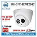 Dahua DH-IPC-HDW1220C IR HD 1080 P Cámara IP de Seguridad IP67 A Prueba de agua de Vigilancia Cámara de Red Bullet Apoyo POE y Onvif