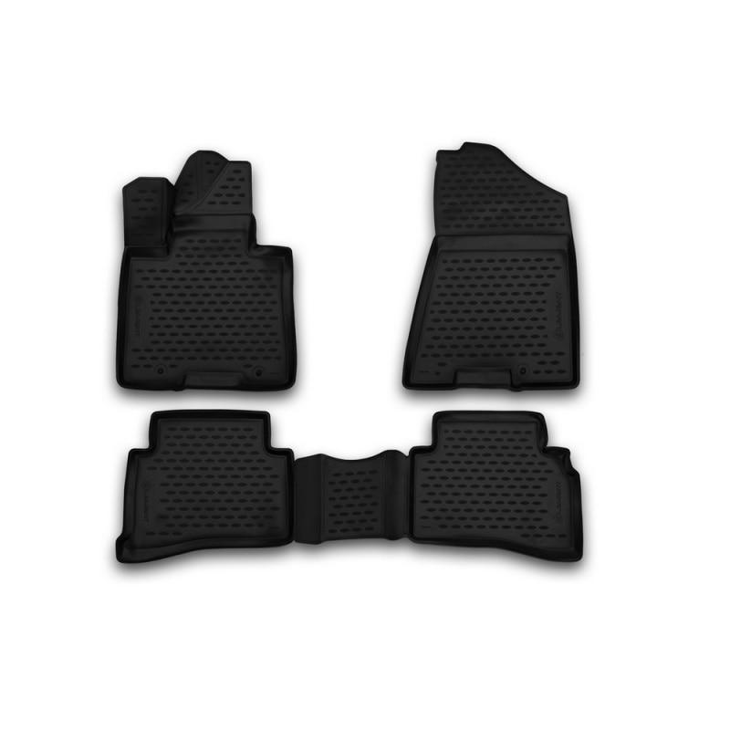 Car Mats 3D salon for HYUNDAI Tucson 2015->, 4 PCs (polyurethane) car mats 3d salon for hyundai elantra 2007 2010 4 pcs polyurethane