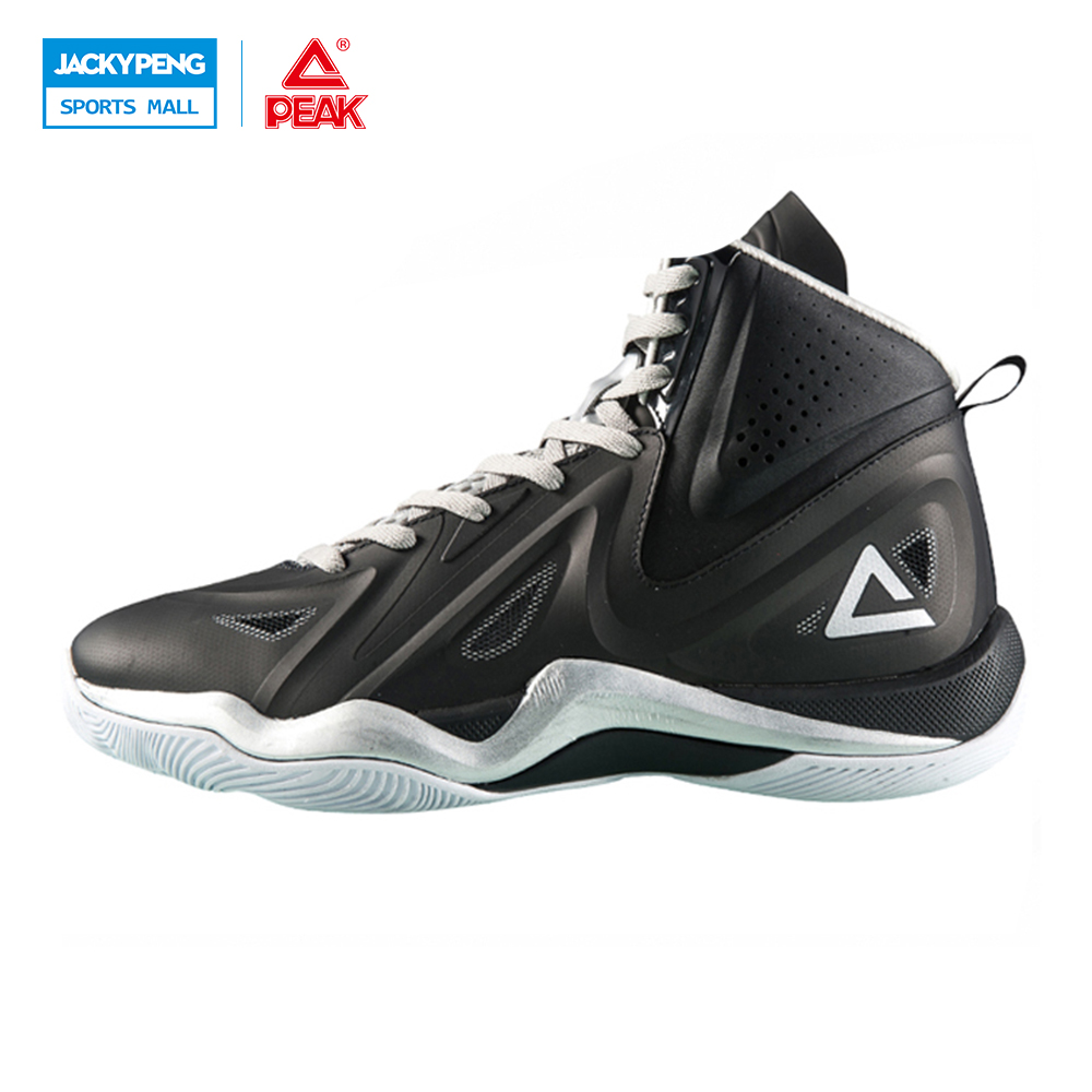 PEAK SPORT Challenger 2.2 Men Basketball Shoes Breathable Competitions Sports Sneakers FOOTHOLD Tech Athletic Ankle Boots peak sport star series george hill gh3 men basketball shoes athletic cushion 3 non marking tech sneakers eur 40 50