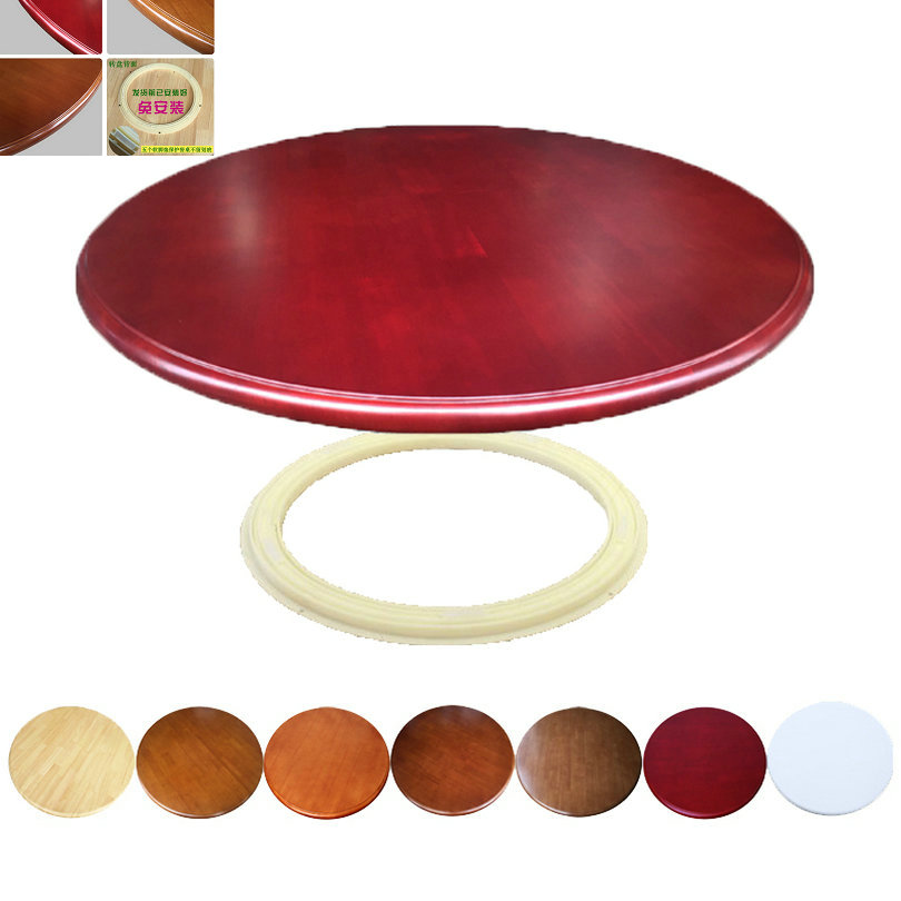 HQ WL3 90CM/36INCH Dia Rotating Turntable Big Lazy Susan 360 Degree Swivel for Dining Table 8 Colors Choice hq wl2 80cm 32inch dia solid oak wood lazy susan turntable dining table swivel plate