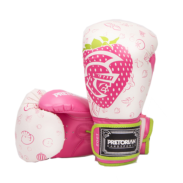Pro 10/12OZ Women MMA Boxing Gloves Sparring Mitts Kickboxing Muay Thai Martial Arts Gear Equipment 2017 DO
