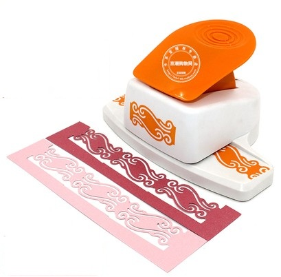 free shipping wave shape border punch foam paper embossing punch  Edge craft punch scrapbook punches for paper cut