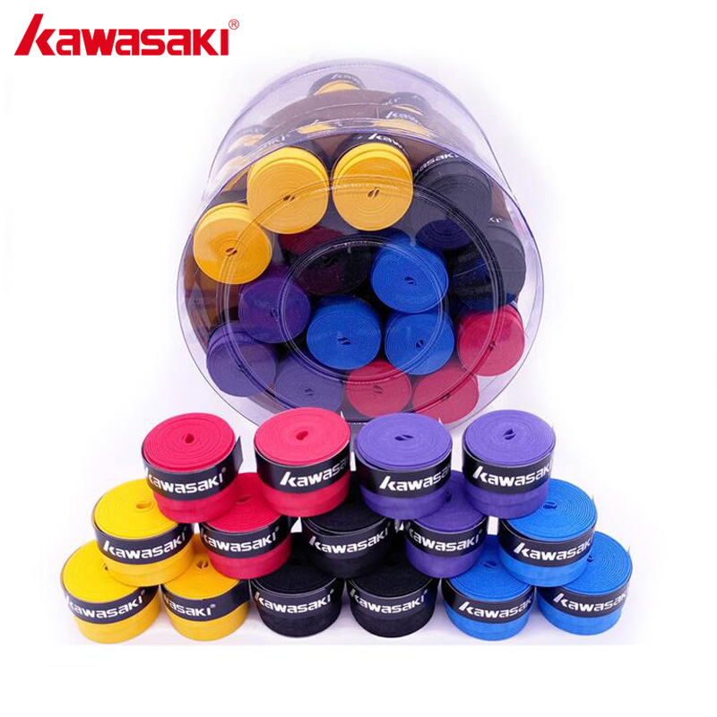 60Pcs/lot Kawasaki X29 Sweatband Anti-slip Breathable Badminton Over Grip Tennis Overgrips Tape Racquet Accessories