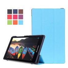 2016 Nueva TB3-850M Tab3 8 pulgadas de la Tableta Caso de la Cubierta Del Tirón Para Lenovo Tab 3 8 pulgadas Tablet case Tab2 Tab3 A8 A8-50F Slim case