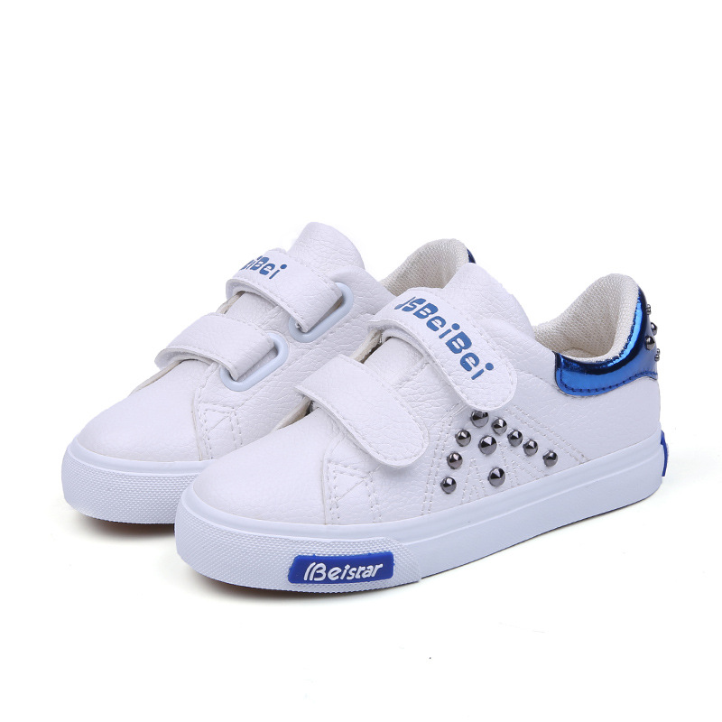 2018 Elegant cool high quality sports children casual shoes breathable Hook^Loop baby girls boys sneakers fantastic kids toddler
