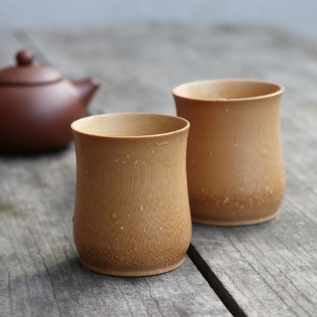 Vintage Minimalistic Eco-Friendly Bamboo Mug