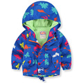 New spring autumn children's jacket coat baby animal printed boys jacket outwear kids windbreaker baby boys clothes