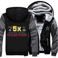 Wholesale Clothing Super Bowl Champion! Mens Hooded Hoodies Dallas Cowboy Sweatshirt Fashion Hoody Thick Warm Coat Plus Size