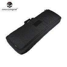 Emersongear Tactical 100cm Dual AEG Rifle Gun Bag 900D Nylon Waterproof Rifle Square Carry Bag Gun Protection Case Rifle Bag