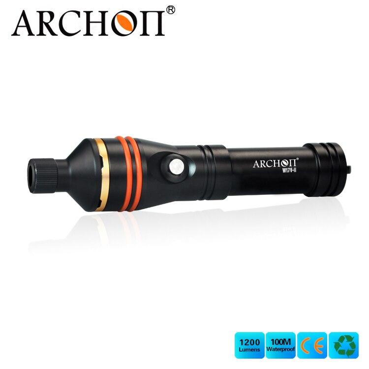 Pas cher et chaude vente Archon W17V-II D11V-II Plongée Snoot Torche Photographie Vidéo Sous-Marine Torche
