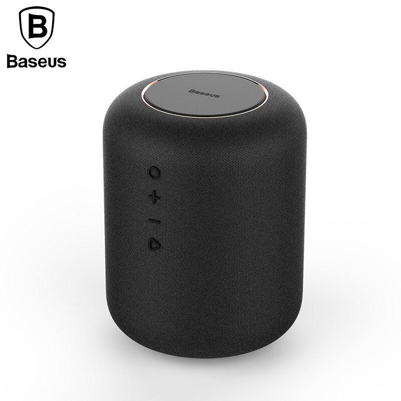 Baseus E50 24 W falante Bluetooth Speaker Com função de Carregador Sem Fio Qi carregador sem fio para o iphone X Samsung Xiaomi Huawei