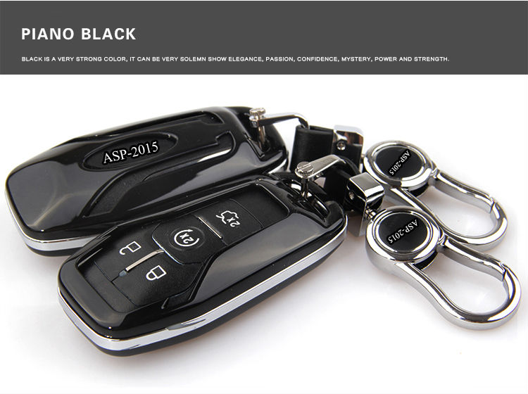 New Abs Material Car Key Cover Accessories Case For Ford