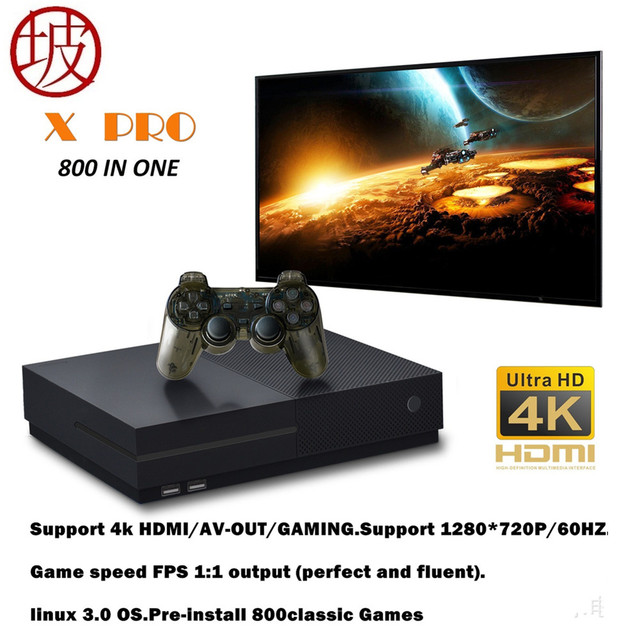 promo code 08f3a 9edde 2018 HD Video Game Console 64 Bit Support 4K Hdmi Output Retro 800 Classic  Family Video