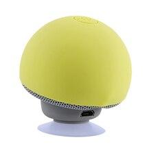 Mini Bluetooth Speaker Wireless Waterproof Loudspeaker Bluetooth Mushroom Portable Speakers Heavy Bass Stereo Music With Mic