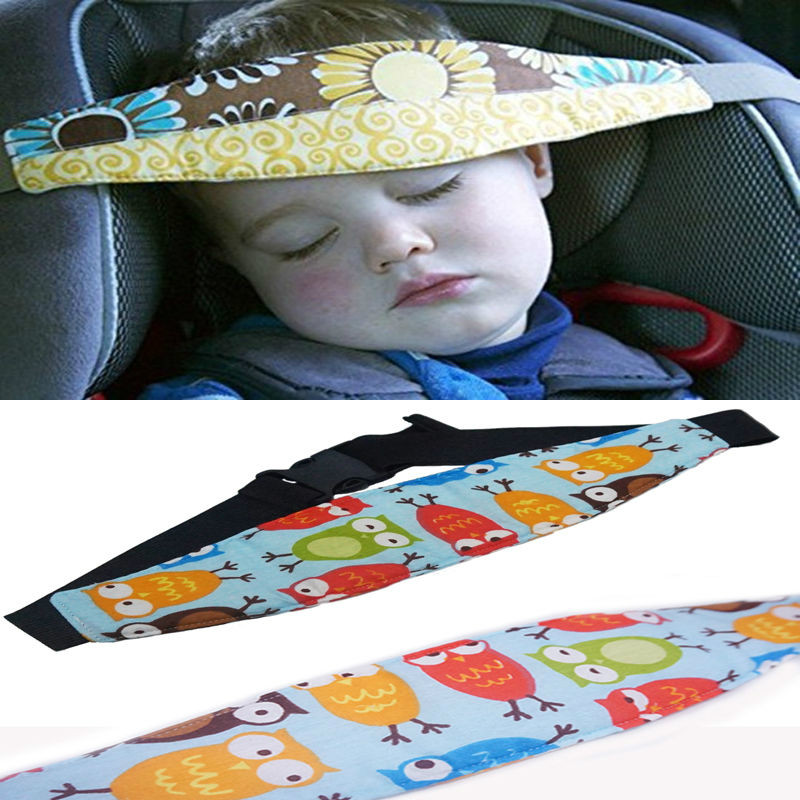 Car Safety Seat Sleep Positioner Infants And Colorful Baby