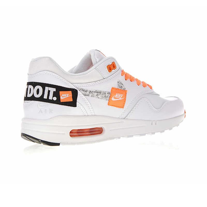 ... Nike Air Max 1 Just Do It для мужчин's кроссовки оригинальные  аутентичные Спорт на открытом воздухе ...