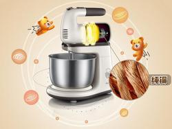 bear Electric dough kneading Bear DDQ-A20D1 electric eggbeater 2L Blender stand Mixer 220v shell breaking