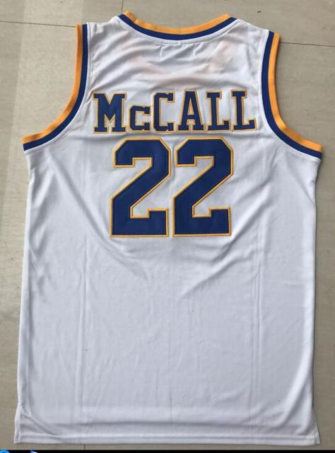 Quincy Mccall Jersey 22 Crenshaw High School Basketball Jersey Movie
