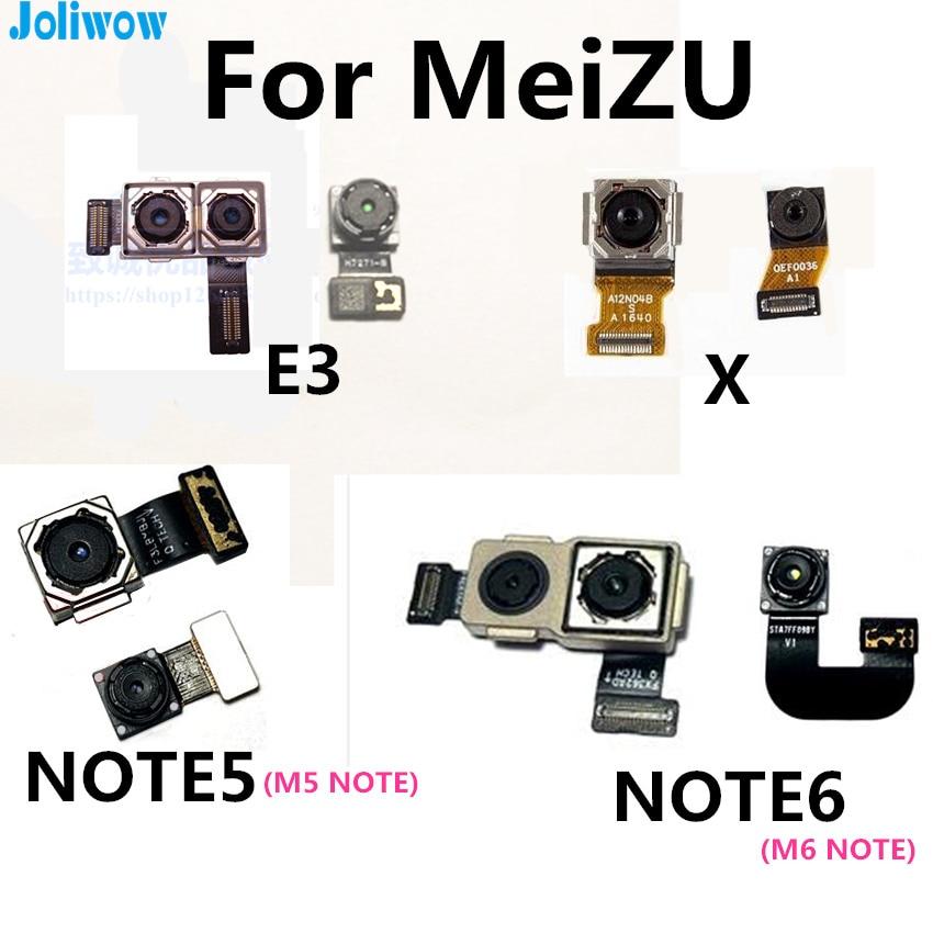 FOR MEIZU E3 E2 X NOTE5 M5 MM6 NOTE  NOTE6  U10 U20 5S Front-facing Rear Camera For Meizu Meilan M5C E3 E2 X M5 M6 NOTE  NOTE6